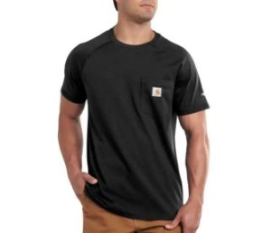 "CARHARTT - Camiseta Force Pocket ""Black"""