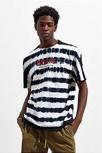 """GUESS - Camiseta Stripe """"Tie-Dye"""""""