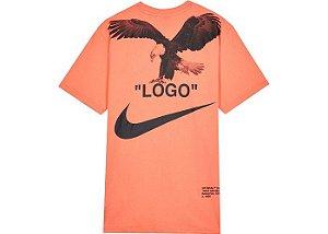 """Nike x Off-White - Camiseta NRG A6 """"Wild/Mango"""""""