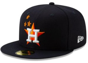 "TRAVIS SCOTT - Boné Houston Astros 59Fifty Fitted ""Navy"""