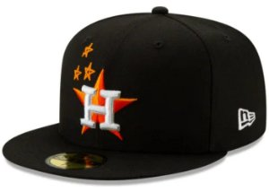 "TRAVIS SCOTT - Boné Houston Astros 59Fifty Fitted ""Black"""