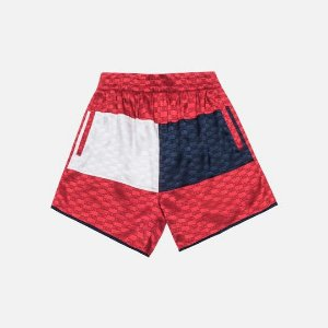"KITH X TOMMY HILFIGER -  Bermuda Satin Boxing ""Red"""