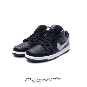 "Nike SB Dunk Low x Diamond Supply Co ""Black Diamond"" -NOVO-"