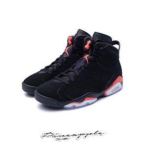 """Nike Air Jordan 6 Retro """"Black/Infrared-23"""" (2019)"""