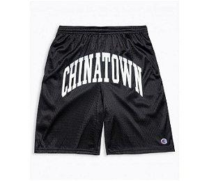 "Chinatown Market x Champion - Bermuda Mesh ""Black"""