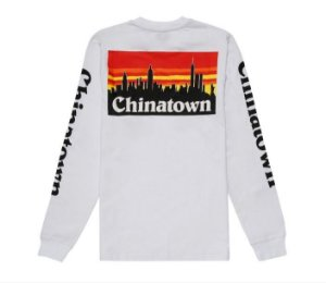 "CHINATOWN MARKET - Camiseta SMU ""White"""