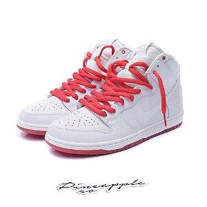 "Nike SB Dunk High x Kevin Bradley ""White/University Red"""