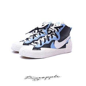 "Nike Blazer High x sacai ""White/Black/Legend Blue"""