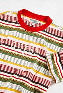 GUESS - Camiseta Brighton Striped