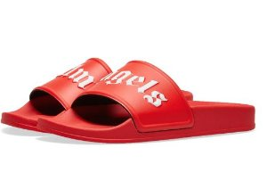 PALM ANGELS - Chinelo Pool Slides