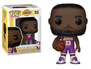 FUNKO POP! - Lebron James Purple Lakers Uniform #53