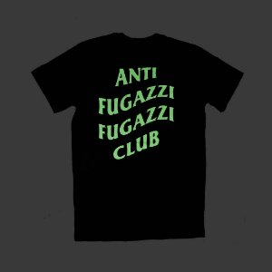 "YEEZY BUSTA - Camiseta Anti Fugazzi Club ""Glow in the Dark PRETA"""