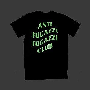 "YEEZY BUSTA - Camiseta Anti Fugazzi Club ""Glow in the Dark - PRETA"""