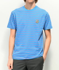 "ODD Future - Camiseta Striped Knit ""Blue/Pink"""