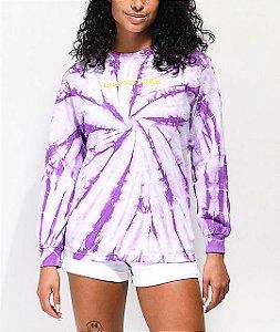 "ODD Future - Camiseta Tie Dye ""Purple"""