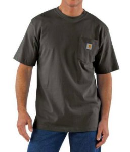 "CARHARTT- Camiseta Pocket ""Peat"""