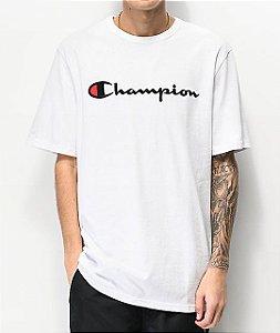 "CHAMPION - Camiseta Script Logo Embroidered ""White"""