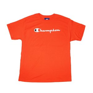 "CHAMPION - Camiseta Script Logo ""Spicy Orange"""