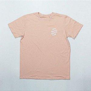 """YEEZY BUSTA - Camiseta Anti Fugazzi Club """"White/Peach"""""""