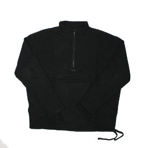 "KITH - Moletom Half zip logo ""Black"""