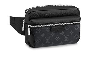 "ENCOMENDA - LOUIS VUITTON - Pochete Waist Outdoor ""Black"""
