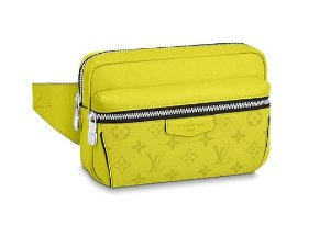 "ENCOMENDA - LOUIS VUITTON - Pochete Waist Outdoor ""Jaune"""