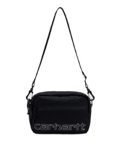 "ENCOMENDA - CARHARTT - Bolsa Shoulder Team Script ""Black"""
