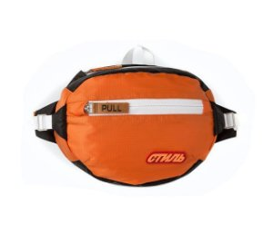 "ENCOMENDA - HERON PRESTON - Pochete Waist CTNMB Padded ""Orange"""