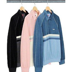 ENCOMENDA - SUPREME - Camisa Stripe Velour Raglan