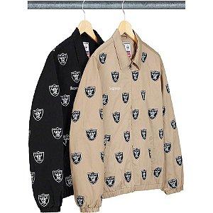 ENCOMENDA - Supreme x NFL x Raiders - Jaqueta Harrington