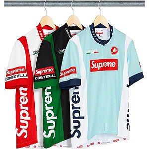 ENCOMENDA - Supreme x Castelli - Camiseta Cycling