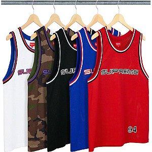 ENCOMENDA -  SUPREME - Regata Rhinestone Basketball
