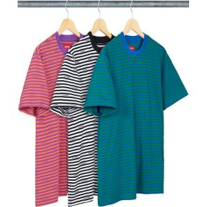 ENCOMENDA - SUPREME - Camiseta Logo Stripe