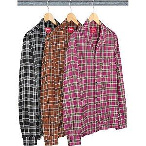 ENCOMENDA - SUPREME - Camisa Plaid Rayon