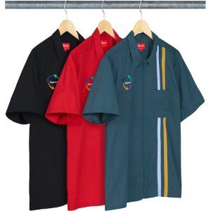 ENCOMENDA - SUPREME - Camisa Zip Up Work Shirt