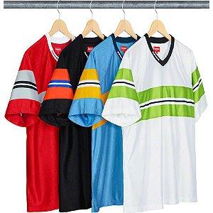 ENCOMENDA -  SUPREME - Camiseta Dazzle Chest Stripe