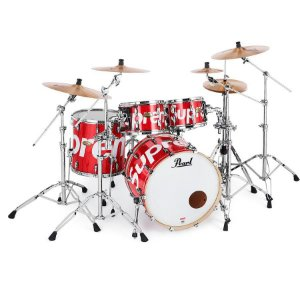 ENCOMENDA - Supreme x Pearl - Drum Set