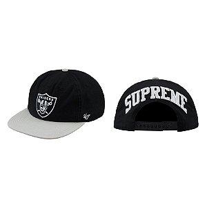 ENCOMENDA - Supreme x NFL x Raiders - Boné