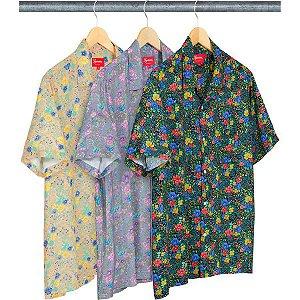 ENCOMENDA - SUPREME - Camisa Mini Floral Rayon