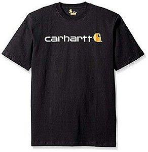 "CARHARTT- Camiseta Script Logo ""Black"""