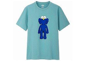 "UNIQLO x KAWS - Camiseta Blue BFF ""Green"""