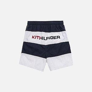 "KITH X TOMMY HILFIGER - Bermuda Woven Stripe ""White/Navy"""