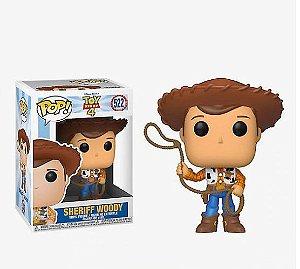 ENCOMENDA - FUNKO POP - Boneco Toy Story 4 Woody #522