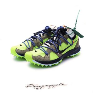 "NIKE x OFF-WHITE - Zoom Terra Kiger 5 ""Electric Green"" -NOVO-"