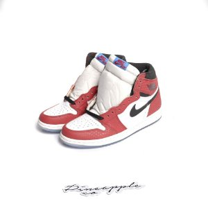 "NIKE - Air Jordan 1 Retro ""Spider-Man Origin Story"" -NOVO-"