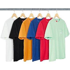 ENCOMENDA - SUPREME - Camiseta Terry Pocket