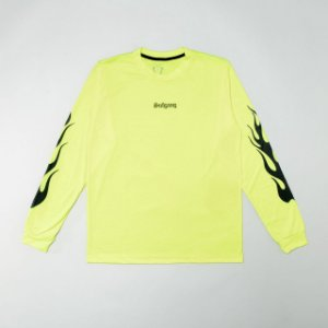 "SUFGANG - Camiseta Flames ""Green Neon"""