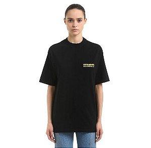 "VETEMENTS - Camiseta Logo Printed ""Black"""