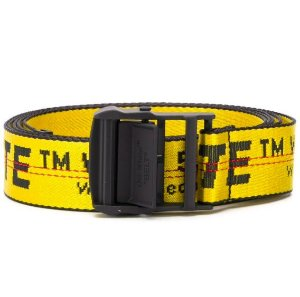 """OFF-WHITE - Cinto Industrial """"Yellow"""""""