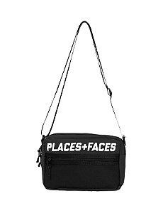 """PLACES + FACES - Bolsa Shoulder """"Black"""""""